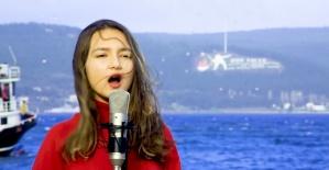 Amasralı Öğrencilerden Çanakkale'de Çanakkale Türküsü