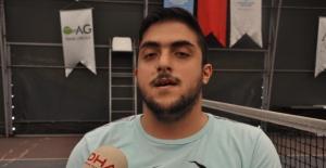 Bartınlı Sefa'nın hedefi, Avrupa Tekerlekli Sandalye Tenis Şampiyonu olmak
