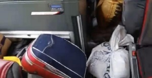 Bartın'da Çuvallarla Dolu Otobüse 2 Bin 372 TL Ceza