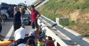 Bartınlı aile TIR'a arkadan çarptı: 1 Ölü, 5 yaralı