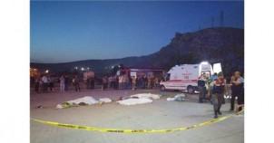 Ecel Gurbette Yakaladı: 3 Ölü, 5 Yaralı