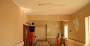 Bartın'da Mahkumlardan Hastanede Bahar Temizliği