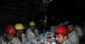 Amasra'da Madencilerle Eksi 300 Kotunda İftar