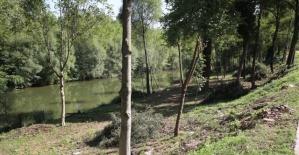 Bartın Irmağı Kenarına Yürüyüş Yolu