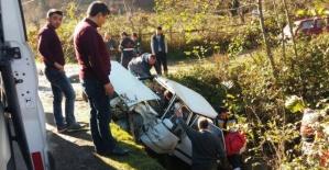 Bartın'da Köprü üzerinde kaza: 4 yaralı