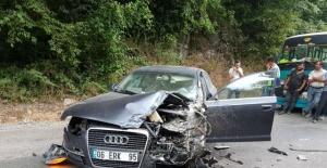 Bartın'da Feci Kaza: 1 Yaralı