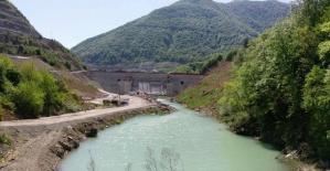 Bartın Kirazlıköprü Barajı tamamlanıyor