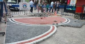 Bartın Kırmızı Caddenin Yeni Dekoru Göründü