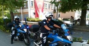 Bartın'da Motosikletli Jandarma Trafik Timleri Göreve Başladı