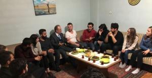 Bartın Üniversitesi Rektörü Uzun öğrencilere misafir oldu