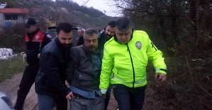 Bartın'da Hareketli Pazar: Çaldığı TIR ile kaza yaptı