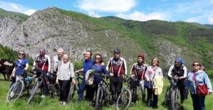 Bartın ve Karabüklü Bisikletliler Küre Dağları Milli Parkında