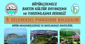 İstanbul'daki Bartınlılar Piknikte Buluşuyor