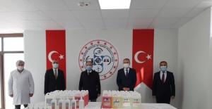 Bartın Fuat Sezgin MTAL'de Dezenfektan Üretimine Başlandı