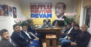 Ak Parti Bartın İl Başkanı Kalaycı'ya tebrik ziyaretleri devam ediyor