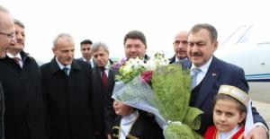 Bakan Veysel Eroğlu Bartın'da