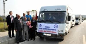 4. Anadolu Kamp ve Karavan Rally's Bartın'a geldi