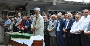 Bartın'da selde ölen yaşlı adam toprağa verildi