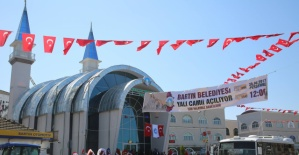 Bartın Yalı Camii Dualarla Açıldı