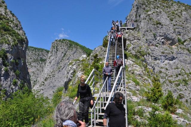 Küre Dağları Valla Kanyonu ziyaret akınına uğruyor