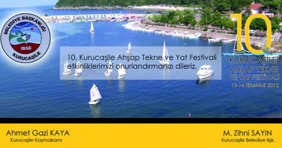 10.Kurucaşile Ahşap Tekne ve Yat Festivali 13-14 Temmuz'da