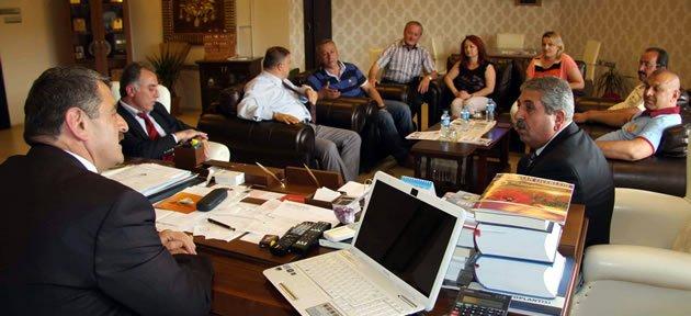 155 belediye işçisi Toplu Sözleşme imzaladı