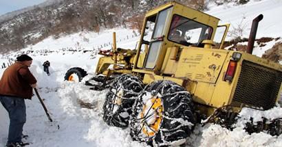 17 köy yolu hala kapalı