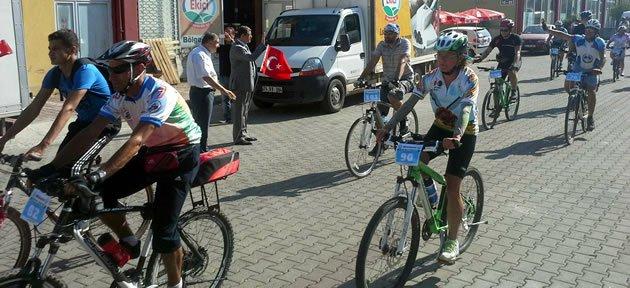 1.Ulusal Bisiklet Şenliği Başladı