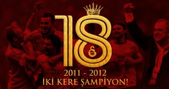 2011-2012 Sezonu Şampiyonu Galatasaray