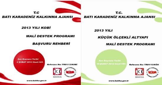 2013 Yılı KOBİ Mali Destek Programı
