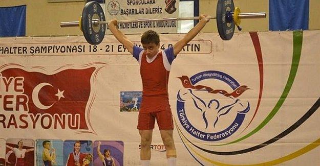 Bartınlı Halterci Avrupa Şampiyonasında