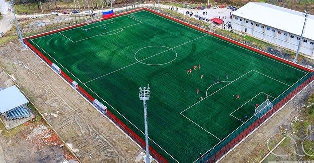 Amasra Futbol Sahasına 466 Kişilik Tribün
