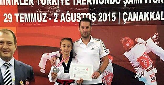 Bartınlı sporcu Taekwando'da Türkiye Üçüncüsü Oldu