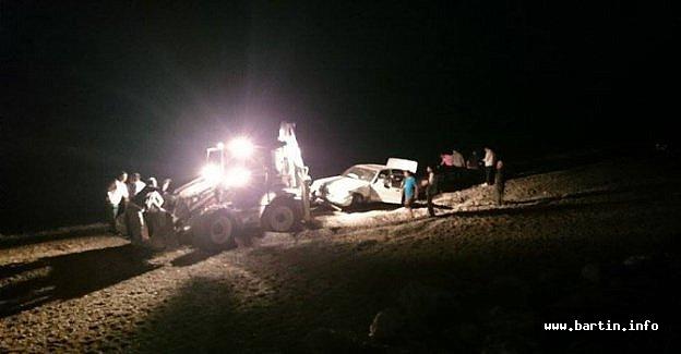 Cide'de Aşırı Hız Kazası: 1'i Ağır 4 Yaralı