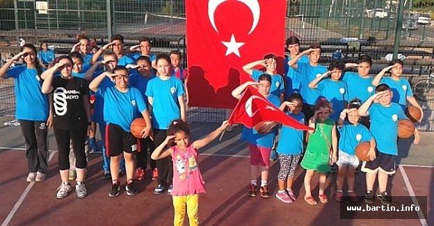 Minik Sporculardan Terör Olaylarına Tepki