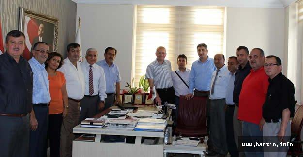 Bayram'dan Meclis'e Teşekkür Ziyareti