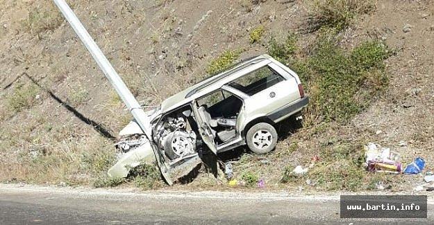 Bayram Yolunda Kaza: 1 Ölü, 5 Yaralı