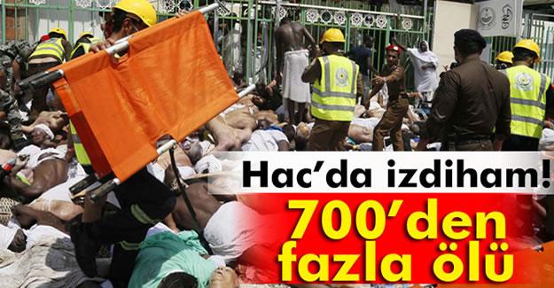 Hac'da izdiham: 717 kişi öldü