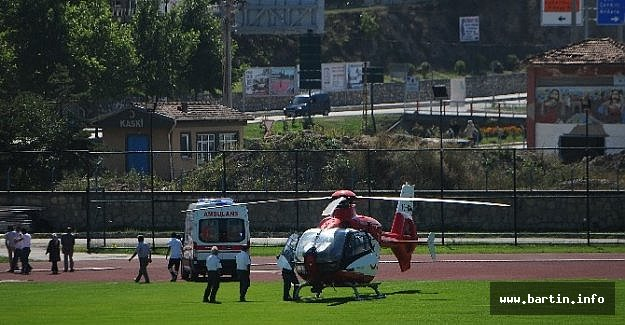 Hava Ambulansı Hasta Çocuğun İmdadına Yetişti