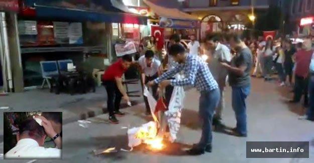 HDP Binasında Olaylar: 1 Polis Yaralı