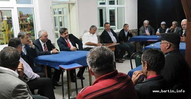 MHP Adayları Akağaç'ta