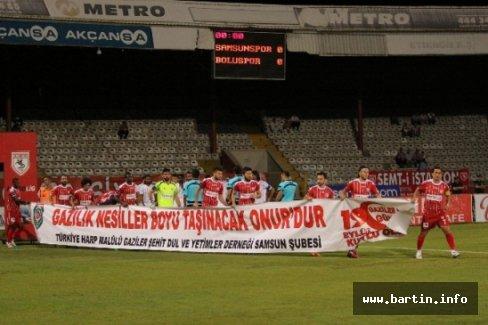 Samsunspor 3-0 Boluspor