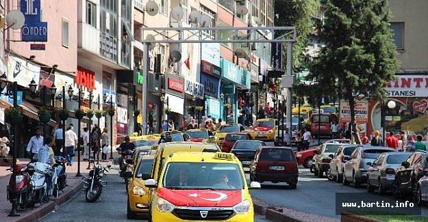 Taksici Ve Minibüsçülerden Teröre Tepki Konvoyu