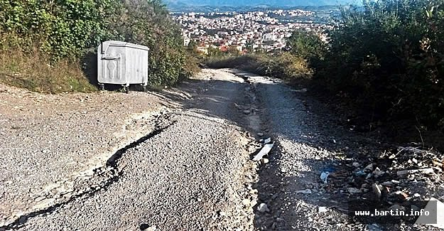 Aladağ'da Vatandaş Yol Mağduru
