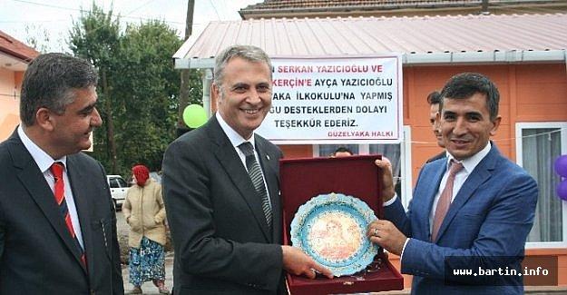 Beşiktaş Başkanı Fikret Orman Çaycuma'da