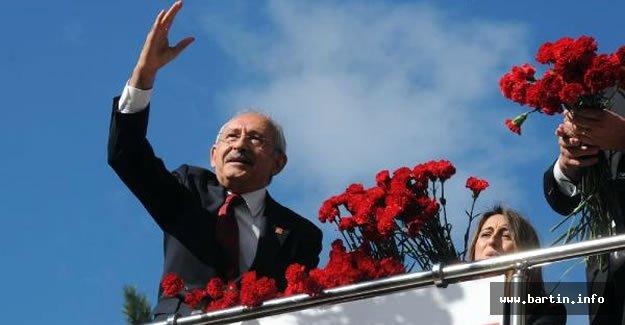 CHP Lideri Kılıçdaroğlu Bartın'da