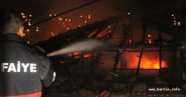 Gurbetçinin Evinde Yangın: 1 Ölü, 1 Yaralı