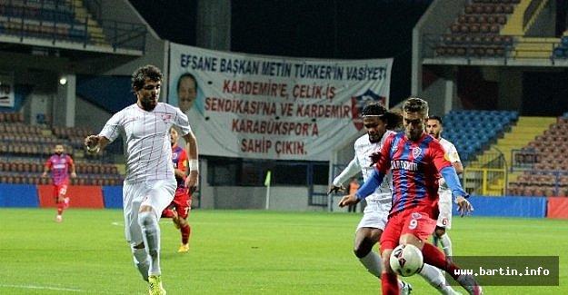 Kardemir Karabükspor 0-1 Boluspor