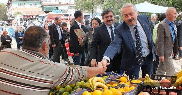 MHP Hasankadı'ya çıkarma yaptı