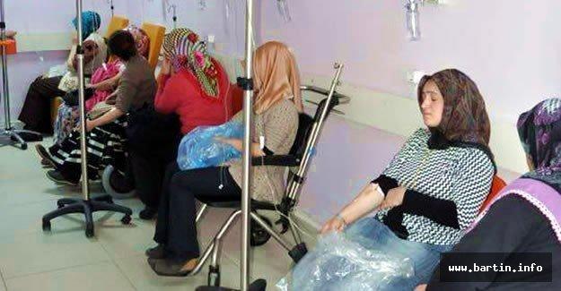 Bartın'da 18 İşçi Hastaneye Kaldırıldı